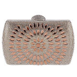 Últimas Design Crystal Beaded Evening Bags para Meninas Rhinestone Clutch Handbag Purses Eb869