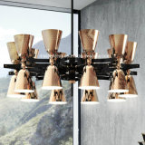Candelabro simples moderno do vintage da individualidade para a iluminação do restaurante