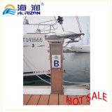 Pedestal de energia de água de liga de alumínio com baixo preço / Marina