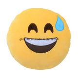 Emoji Kissen, gefüllt von den Microbeads