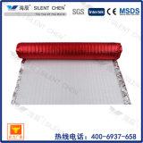 Blanca espuma de EPE con aluminio rojo Film Underlayment