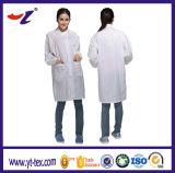 Vêtements ESD avec soie conductrice pour salle blanche