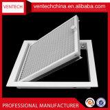 Griglia rotonda di Eggcrate della griglia di alluminio di ventilazione dei sistemi di HVAC
