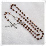 Пластмасса поставкы фабрики дешевая отбортовывает Rosary для подарка (IO-cr133)