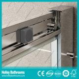 Portello scorrevole dell'acquazzone di rettangolo con il blocco per grafici della lega di alluminio (SE903C)