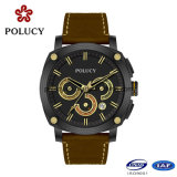Private Label Mens Fiber Watch com Função Cronógrafo