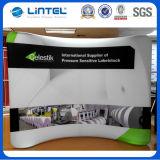 Beweglicher Gewebe-Spannkraft-Hintergrund-Standplatz knallen oben Bildschirmanzeige (LT-24)
