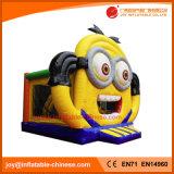 遊園地(T1509)のための膨脹可能なおもちゃの跳躍の警備員
