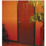 Porte en bois du modèle américain le plus populaire HDF (porte de HDF)