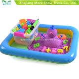 Установленные игрушки песка игры воспитательного волшебного движения малышей Moving шальные