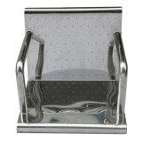 Chaise de massage pleine corps à bulle d'eau en acier inoxydable