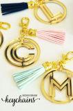 주문을 받아서 만들어진 승진 귀여운 금속 열쇠 고리 (Y03239)