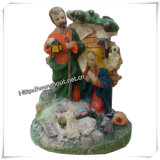 Polyresin fromme Wholesale Fertigkeit-Andenken-fromme Statuen (IO-ca045)