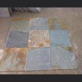 자연적인 노랗거나 녹색 또는 회색 또는 시골풍 또는 까만 규암 슬레이트 도와