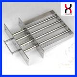 Filtro magnetico, separatore magnetico, magnete del cassetto per industria di plastica