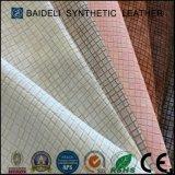 Couro sintético antifric1ão super do PVC para o Upholstery do sofá/mobília