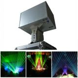 RGB Volledige Kleur 8000MW maakt de Bewegende HoofdVerlichting van de Laser waterdicht