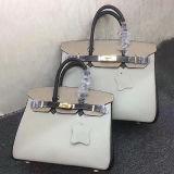 新しく標準的なデザイナーはハンドバッグの女性の本革のトートバックEmg4809を袋に入れる