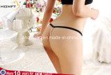 최신 여자 Heart-Shaped 레이스 구슬 사슬 내복 G 끈 열려있는 가죽끈 Panty