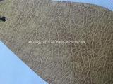 Cuoio di Microfiber di colore di tono di alta qualità due per il sofà