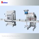 Automático de llenado y tapado de la máquina para la producción de jabón líquido con una excelente calidad