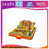 2016 Stlye Qilong novos equipamentos para crianças playground coberto de Aço