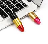 Bastone di memoria del regalo di Laydies dell'azionamento dell'istantaneo del USB di modo del rossetto