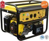 Gerador plástico novo Sh6500X/E da gasolina do projeto 6kw do painel