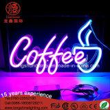 Segno al neon della decorazione su ordinazione per la caffetteria