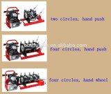 HDPE 수동 개머리판쇠 융해 용접 기계 Shds160/50A4 손 용접 기계