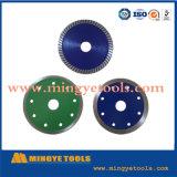 El diamante Electroplated vio las láminas mojadas/el disco seco del corte del círculo