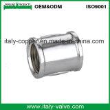 Personalizar la calidad de pulido de latón forjado el tapón del pezón (AV-BF-8019)