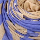 Scarf d'usine de Hwb BSCI de Madame estampée par piste en polyester 100% (HWBPS034)