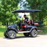 良質4のSeaterの大きいタイヤが付いている電気ゴルフカート