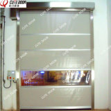 Ткань PVC высокоскоростная свертывает вверх двери движения для чистой комнаты