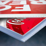 Печатание доски Corflute высокого качества Eco-Friendly водоустойчивое рекламируя