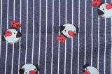 4oz 100%Cotton에 의하여 인쇄되는 데님 셔츠 부대 청바지 직물