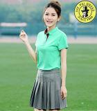 Tissu neuf de chemise de polo de coton de femme de modèle