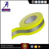 Fita de material de reflexão Prismatic de PVC para colete de segurança