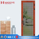 Puerta de aluminio del marco de la sola hoja económica para el tocador