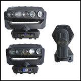 新しい15PCS LEDの回転圧延の移動ヘッドくもライト