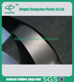 Estera de goma de caucho natural de cuero de PU Estera de goma ecológica impresa de goma
