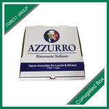 Contenitore di carta ondulato lucido di contenitore di pizza e scanalatura
