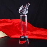 Ofício popular do troféu do cristal K9 para a lembrança