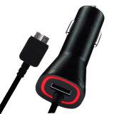 Зарядное устройство для сотового телефона автомобильного зарядного устройства USB для Samsung Примечание3 S5