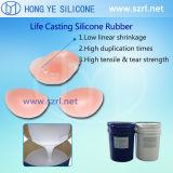 Pele Non-Toxic de borracha de silicone segura para bonecas fazendo