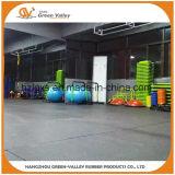 50X50cmの合成物の体操のためのゴム製床のマット