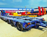 油圧モジュラートレーラー100-200トンの頑丈なマルチ車軸