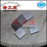 Folha do quadrado do carboneto cimentado do tungstênio para a estaca de trituração