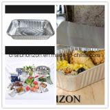 Контейнер алюминиевой фольги качества еды для Roasting
